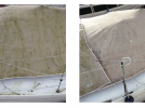 Wet & Forget - Before and After - Boat cover